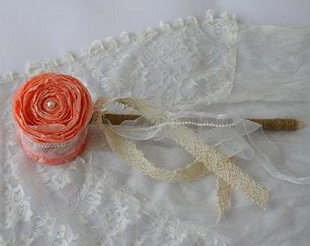 Flower Girl Wands - Flower Girl Wand - Flower Girl Bouquet - Princess Wand - Birthday Wand - Paper Wedding Flower Girl Wand - Paper Flowers