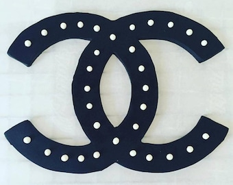 """5"""" Chanel-inspired Flatlay Fondant Cake Topper LOCAL DELIVERY ONLY"""