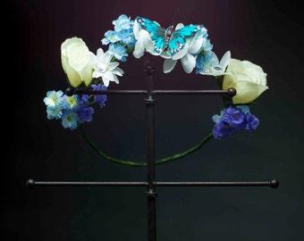 Cinderella Flower Crown - OOAK