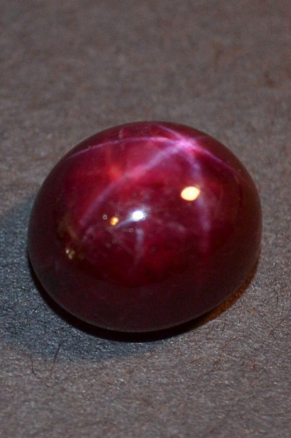 Natural Star Ruby Oval Cabochon Weighing 10 53 Carats Free