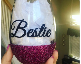 Best Friends Stemless (wine) Glass
