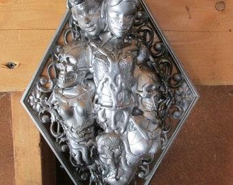 Tortured Doll Mixed Media Sculpture
