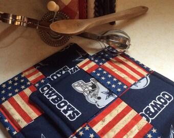 NFL Dallas Cowboys, USA, Hot pads-Pot holders, kitchen, Dining, Football, sports