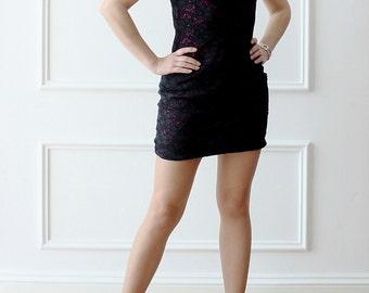 Black dress, lace dress, mini dress, elegant dress, evening dress, Prom Gown, dress, party dress, cocktail dress, chic, gift,