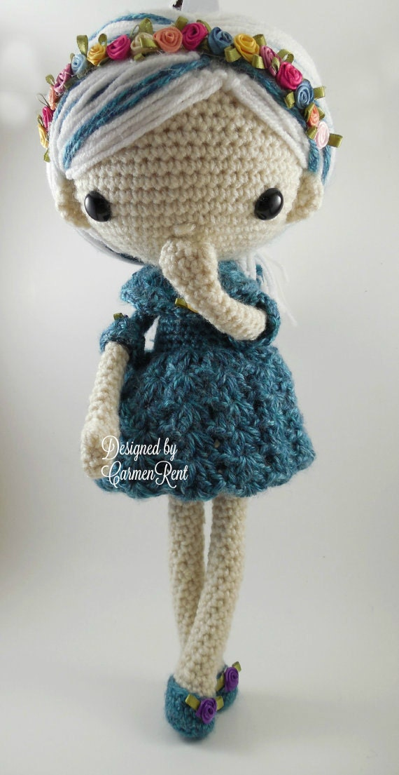 azul amigurumi doll crochet pattern pdf. Black Bedroom Furniture Sets. Home Design Ideas
