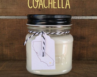 Coachella    Scented Soy Candle    California    Mango    Papaya