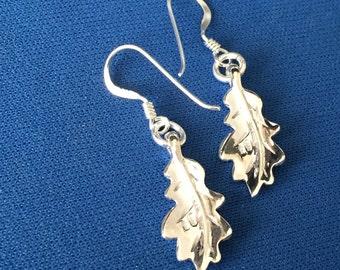 A Pair of Oak Leaves earrings sterling silver .925