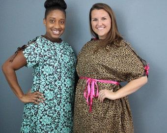 Fancy Womens hospital/ Push gown