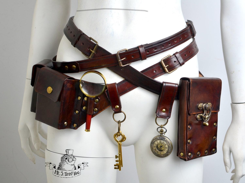 Ultimate steampunk belts kit - Steampunk bett ...