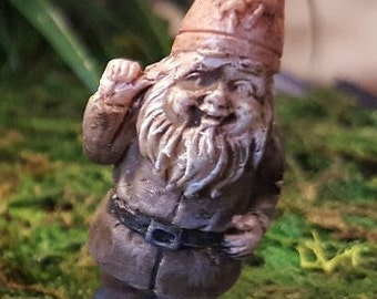 Miniature Teeny Gnome - Billy