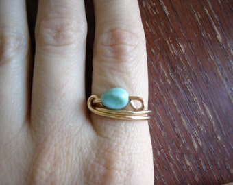 Turquoise Ring size 6.5