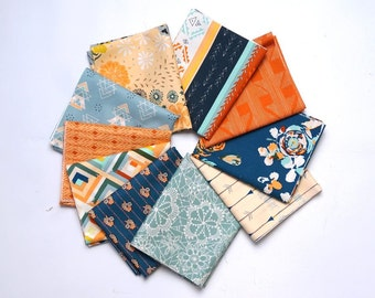 Fleet & Flourish Tenacity Fat Quarter Bundle - Maureen Cracknell for Art Gallery Fabric