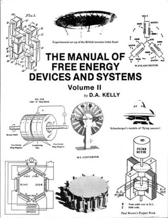 The Manual Of Free Energy Devices And Systems Volume Ii By D A