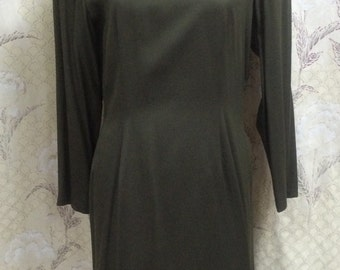 1980s Olive Green Casual Dress from Charter Club