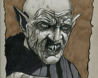 Nosferatu drawing