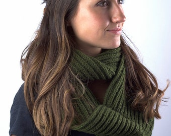 Maya Knit Infinity Scarf: Haushala Women's Cooperative, Made in Nepal
