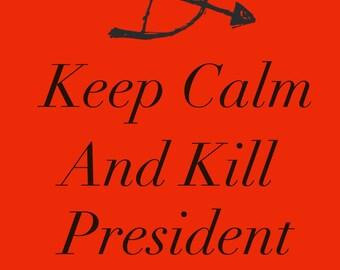 Printable Keep Calm Hunger Games Poster
