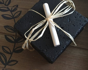 Set of 4 - Chalkboard Coasters