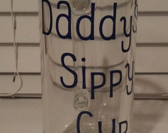 Daddy's Sippy Cup Beer Mug