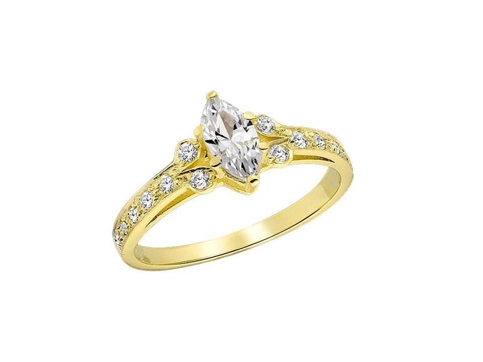 Awesome lab made diamond engagement rings for Lab created diamond wedding rings