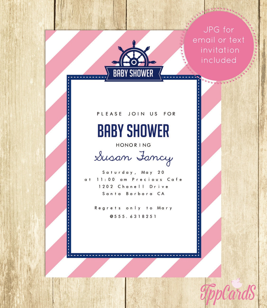 nautical baby shower invitations nautical baby shower by tppcards