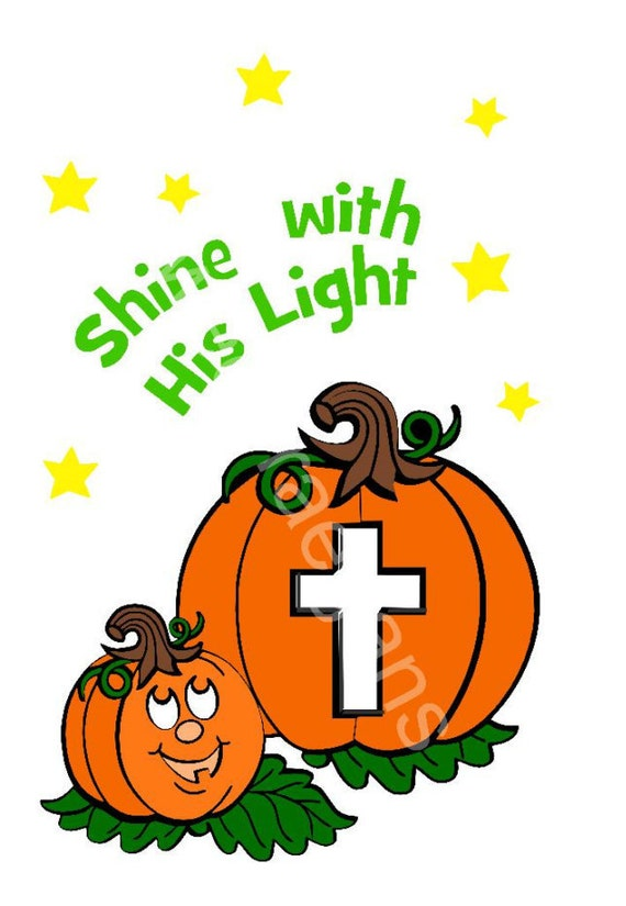 Items similar to Christian Halloween SVG, Instant Download ...