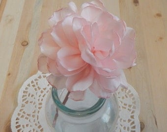 Pink Chiffon Flower Headband, Chiffon Flower Headband, Headband, Girls Headband, Women Headband, Flower Headband, Hair Accessories