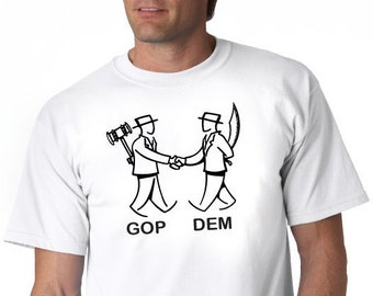 Into politics? This is how it's going and the shirt for you.
