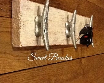 Boat Cleat Key, Purse You Name it Holder Dock Cleat Coat Rack