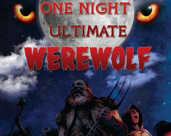 One Night Ultimate Werewolf Horror Movie Poster