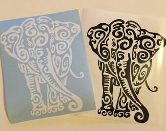 Tribal Elephant Decal