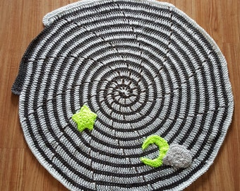 Sweet Dreams and Stormy Nights baby blanket