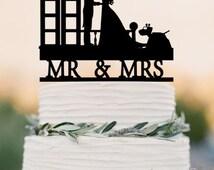 Wedding Cake Topper TARDIS, Doctor Who Wedding Cake Topper,  TARDIS Wedding cake topper, Doctor Who Wedding, wedding cake topper, Mr Mrs
