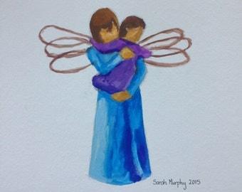 Angel original painting