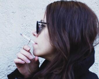 Silver Smoke Ring