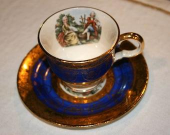 Far Eastern Importex New York China Teacup Set//Victorian design//Rare Collector Pieces//Vintage Teacup Set