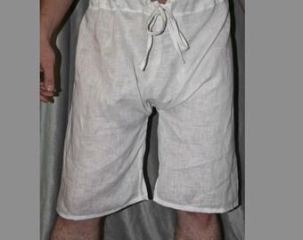Medieval Braies Linen Underwear medieval Underwear medieval garb medieval Braes Medieval Reenactment SCA garb LARP knight