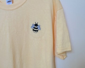 Embroidered Bee T-shirt
