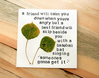 Best friends - Friendship Card