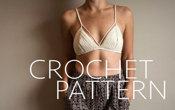 The Bralette/Bikini CROCHET PATTERN