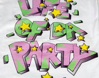 ILoveCollege Life of Da Party Women's Tee