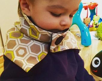 Cache neck warmer in cotton