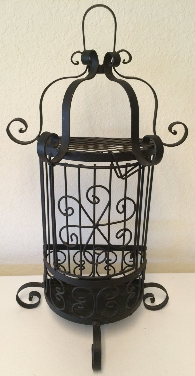 Iron Candle Holder Wall Sconce : Vintage Wrought Iron Sconce wrought iron candle holder