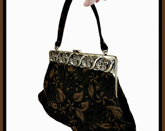 Vintage Garay Brocade Handbag,Vintage Garay Handbag,Vintage Handbag,Vintage Brocade Purse,Vintage Garay Purse,Vintage Purse,Garay Pocketbook