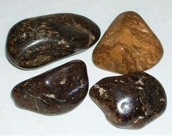 Bronzite - Polished Bronzite - Tumbled Bronzite - Bronzite Crystal - Bronzite Stone - Jumbo