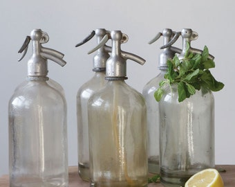 Seltzer Bottle Vintage LOT OF THREE