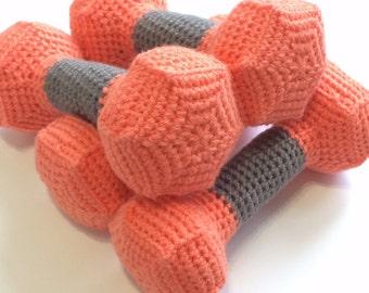 Crochet Dumbbells