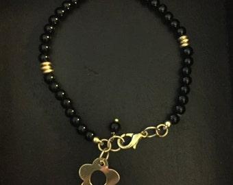 Handmade Bracelet with Flower