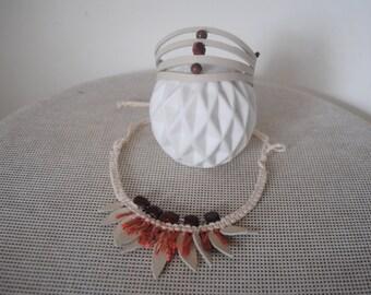 Breschia Jasper's jewelry