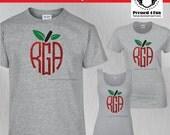 Teacher Shirts: Monogram ...